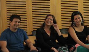Profesionales participantes del encuentro.