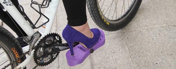 Pedales impresión 3D para zapatos tacones